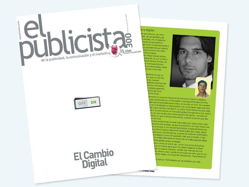 Montaje Revista el publicista