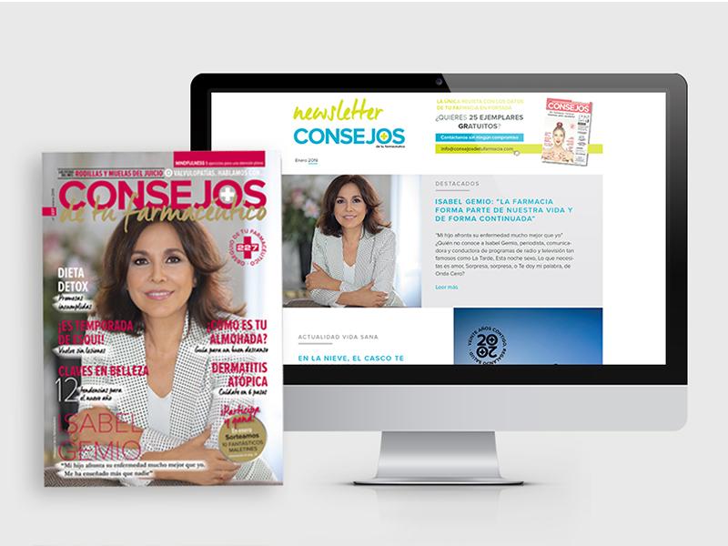 Proyecto de Marketing on/off para Consejos de tu Farmacéutico - Parnaso