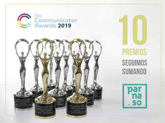 "Parnaso premiada en ""The Communicator Awards 2019"" - Parnaso"