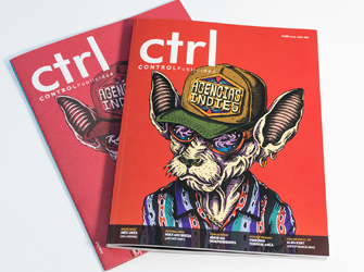 Parnaso en la revista de marketing Ctrl Control Publicidad - Parnaso