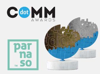 Única agencia española premiada en los Dotcomm Awards - Parnaso