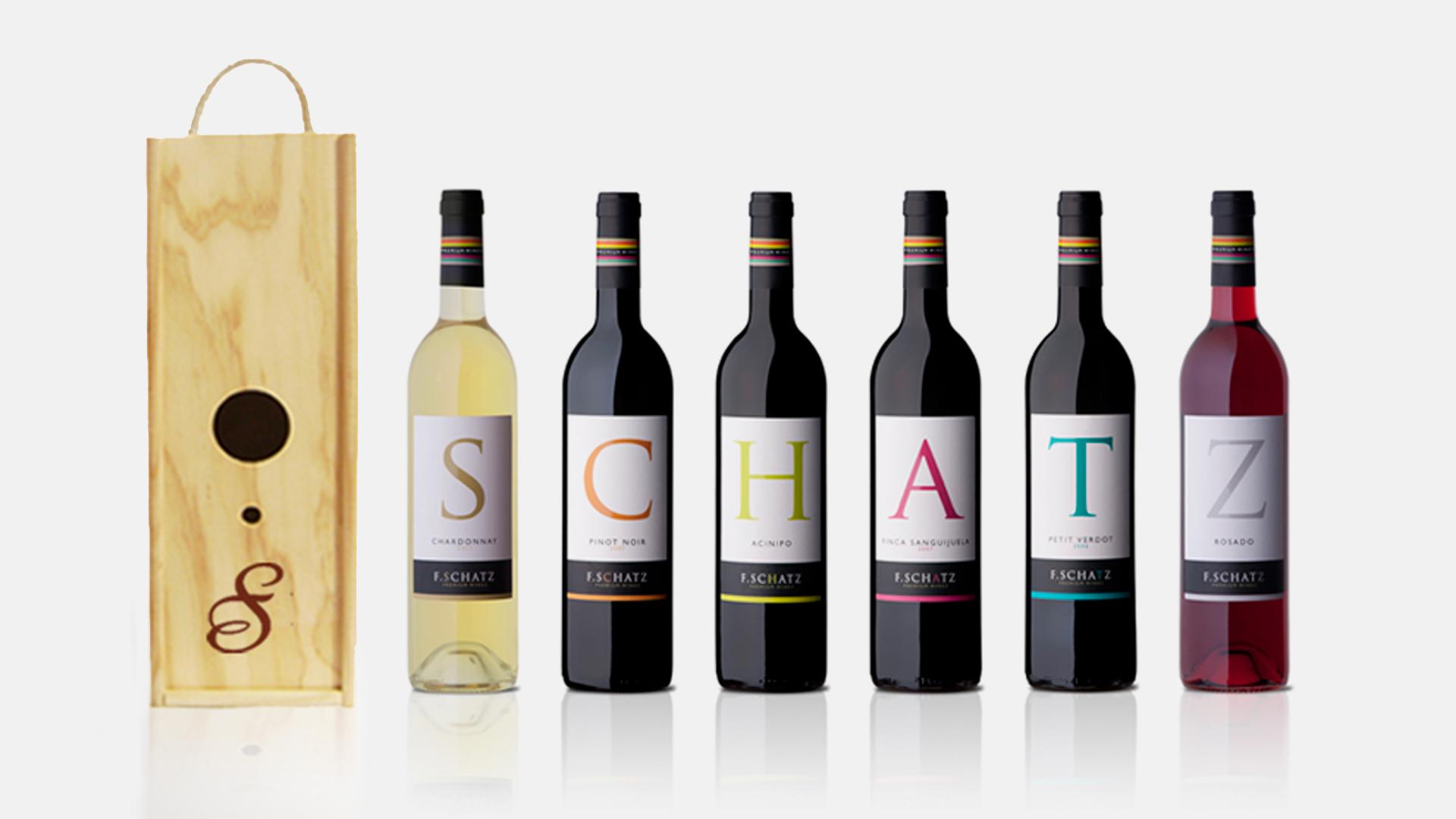 Campaña de branding para Bodegas Schatz - Parnaso