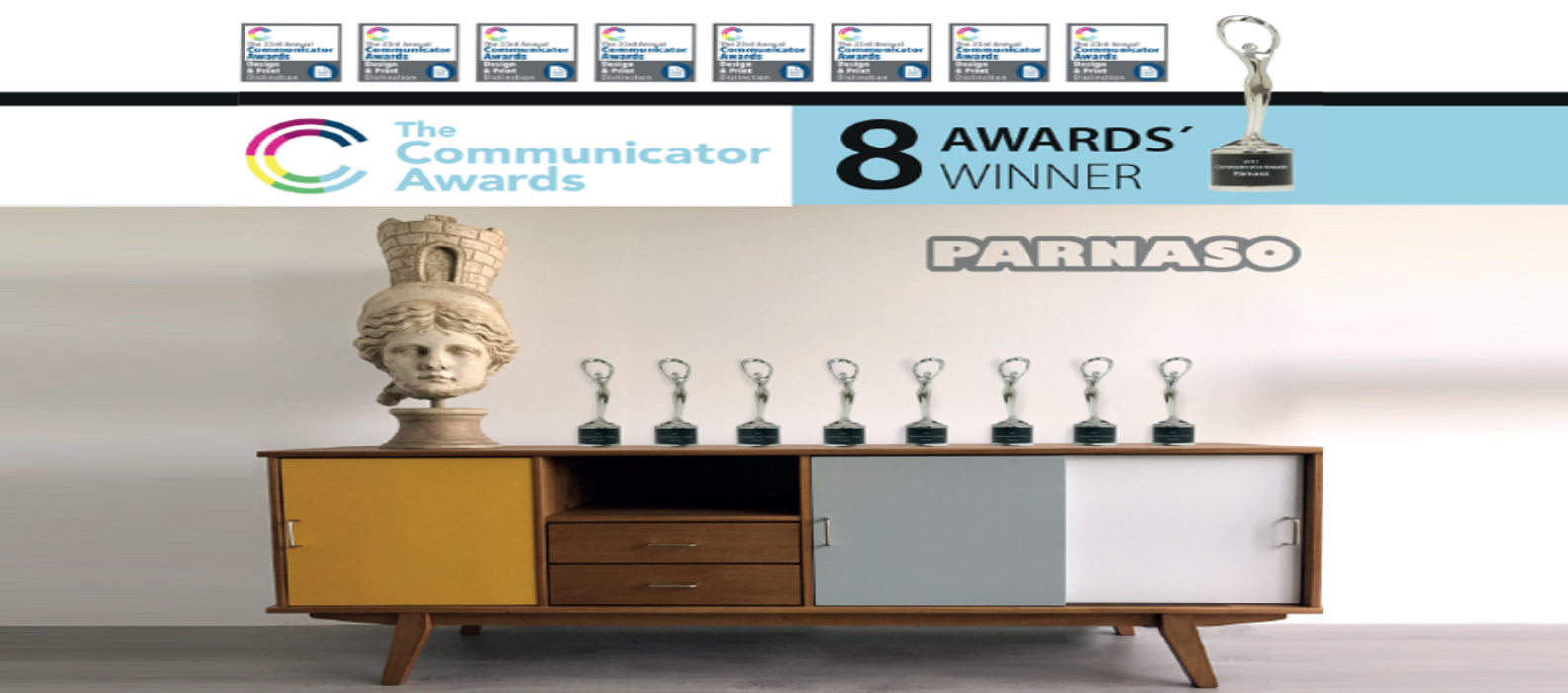 "Parnaso recibe 8 premios en los ""Communicator Awards"" - Parnaso"