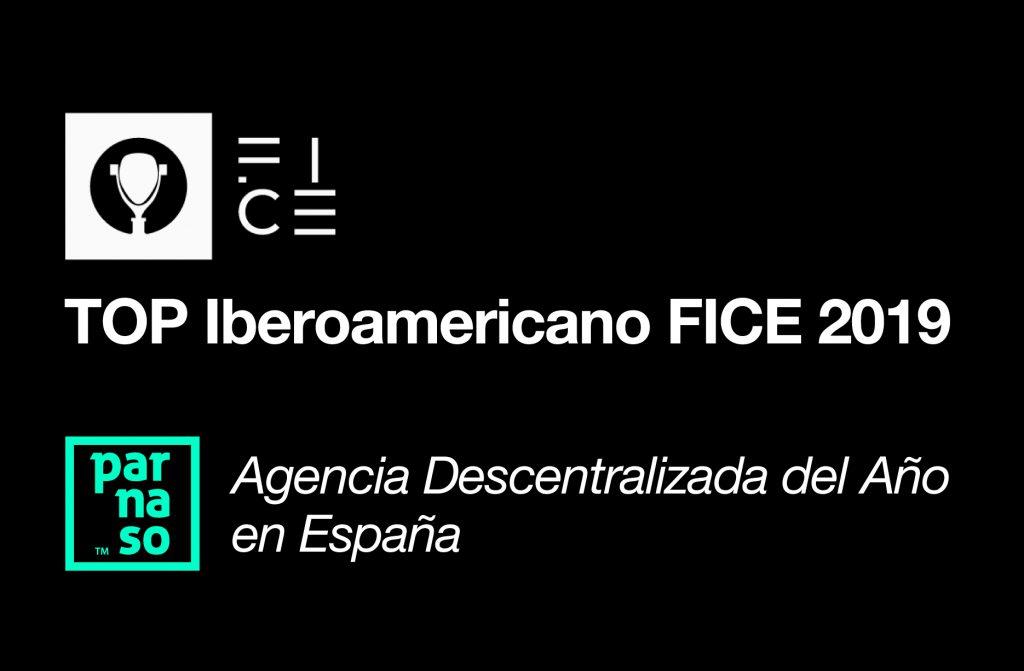 Parnaso premiada en el FICE. TOP Iberoamericano 2019 - Parnaso