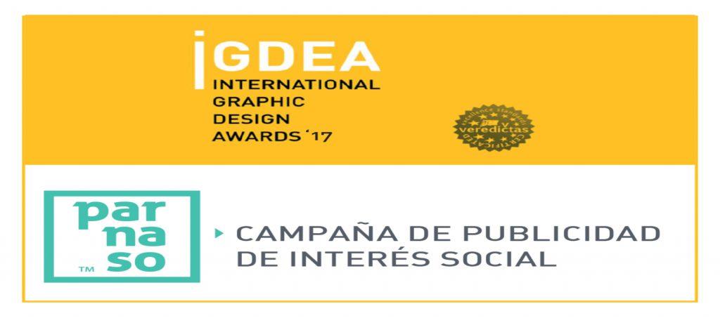 Ganamos un nuevo premio internacional en IGDEA Awards - Parnaso
