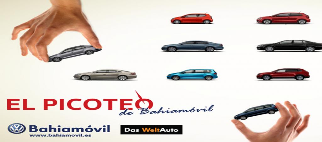 Campaña de publicitaria 360º para Bahiamóvil Volkswagen 2