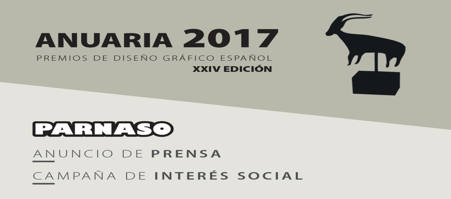 Éxito de Parnaso en los premios de diseño gráfico Anuaria - Parnaso