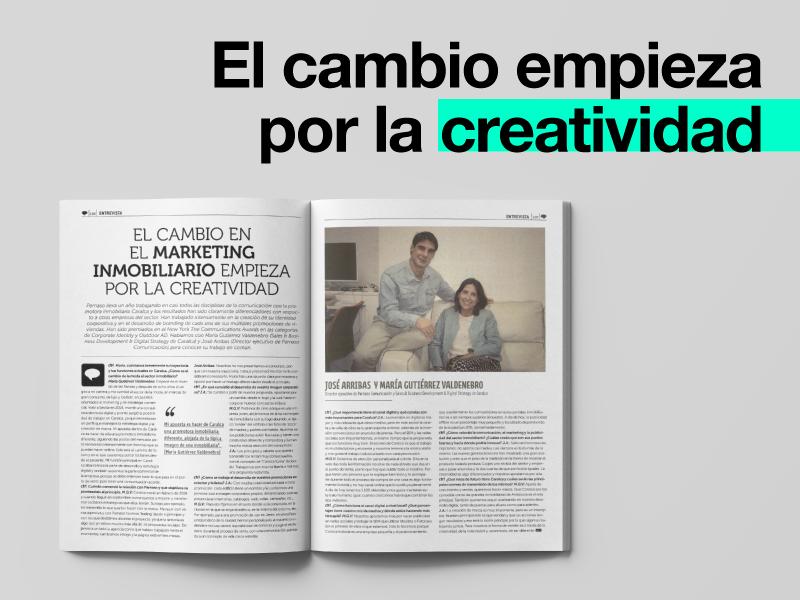 Parnaso Comunicación y Caralca en CTRL Publicidad - Parnaso