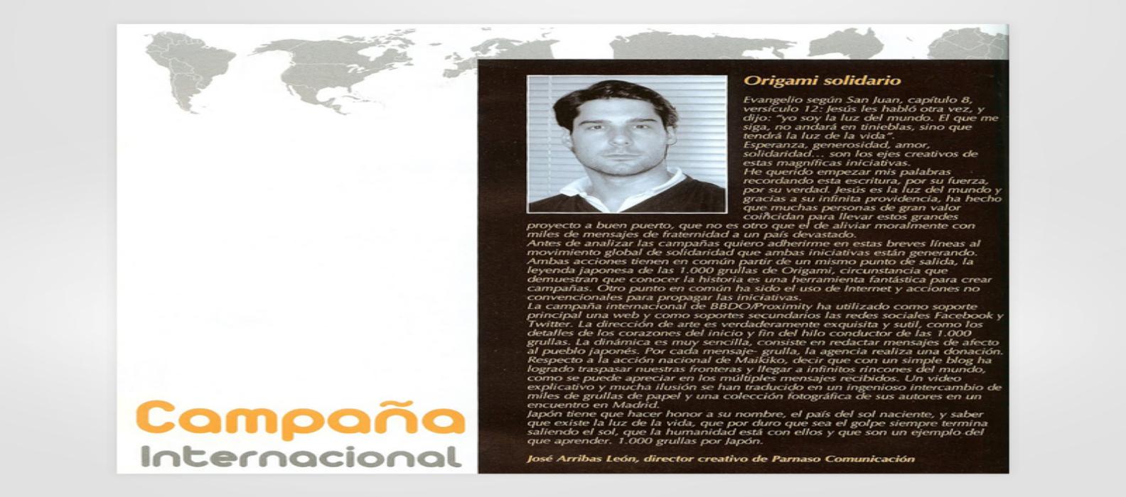 campaña internacional solidaria