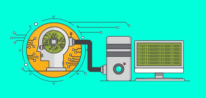 Infografia Cerebro Maquina Google BERT