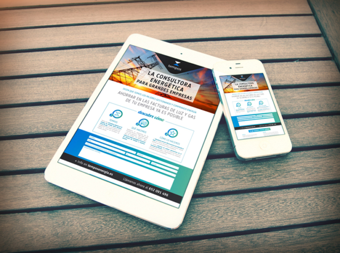 Parnaso crea la campaña SEM para Tempos Energía 2