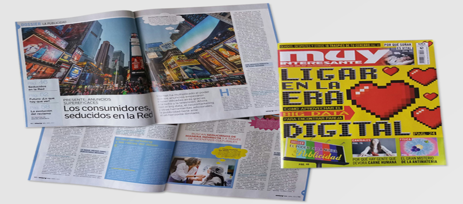 Parnaso participa en el especial de la revista Muy Interesante - Parnaso