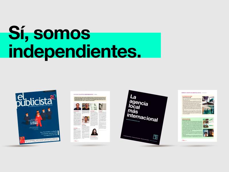 Parnaso en el especial de agencias creativas de El Publicista - Parnaso