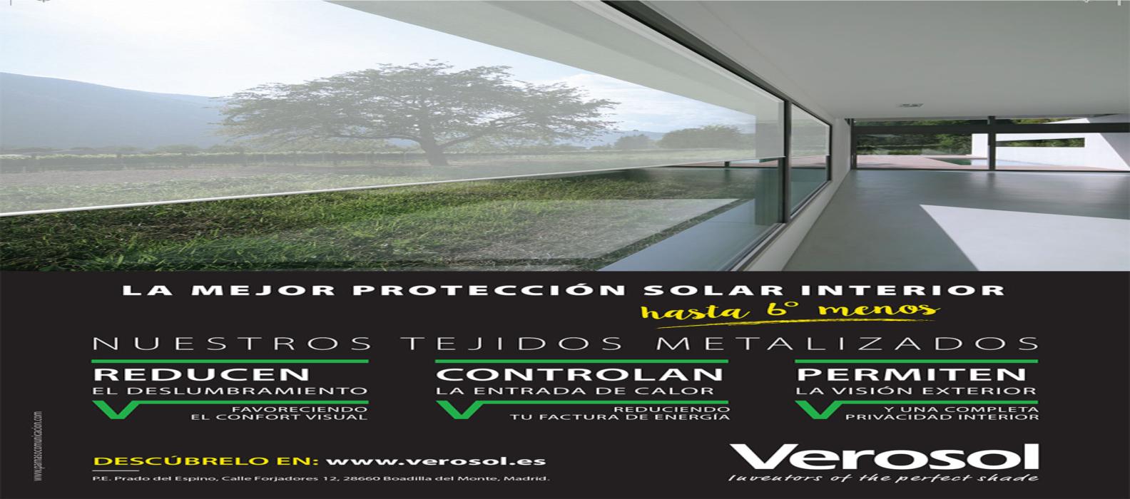 Publicidad Verosol Proteccion solar interior