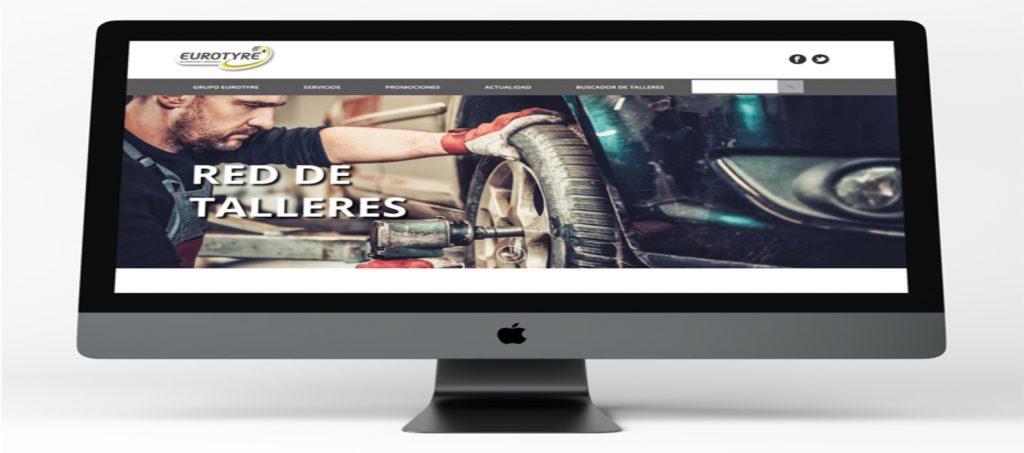 Nuevo diseño web para la multinacional francesa Eurotyre - Parnaso