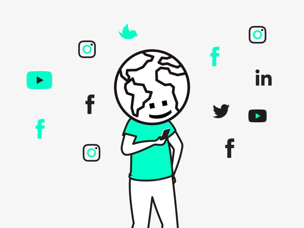 mundo social media