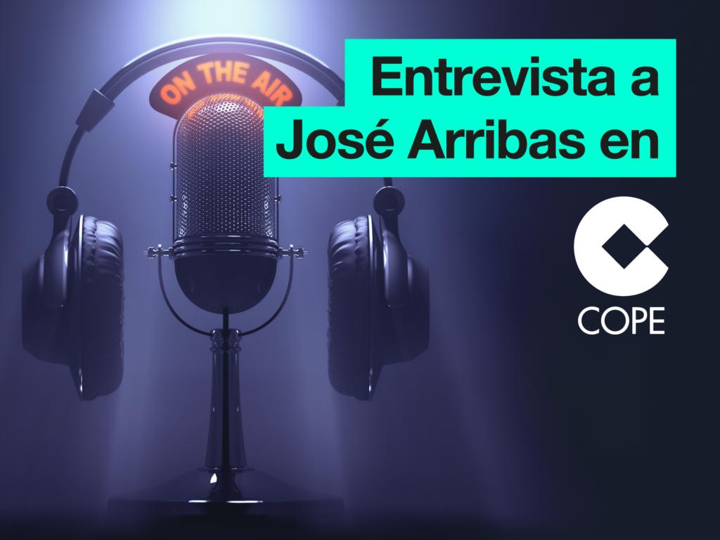 Entrevista a José Arribas en el programa de Herrera en COPE - Parnaso