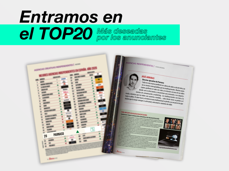 Revista El Publicista, entramos en el top 20 de las más deseadas por los anunciantes