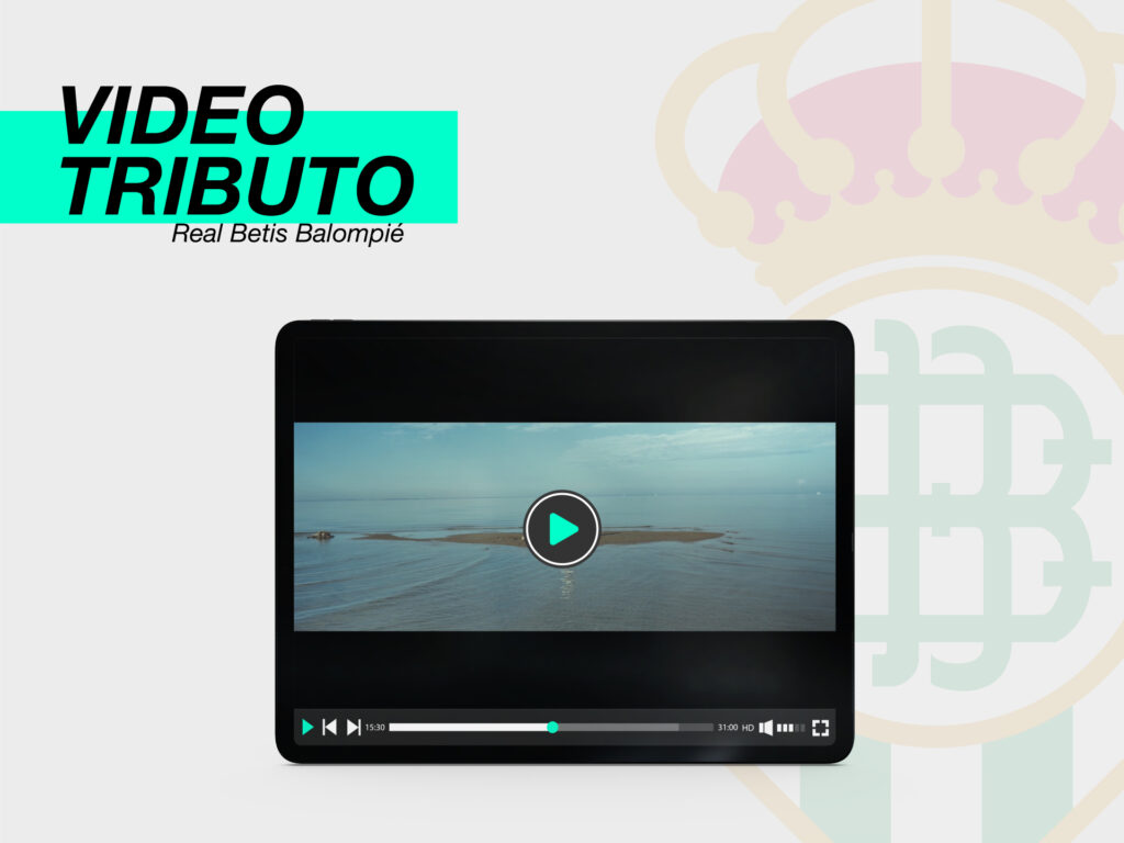 Realizamos desde Parnaso Vídeo Tributo al Real Betis Balompié - Parnaso