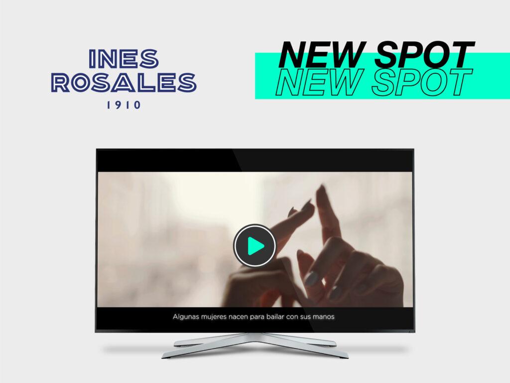 Parnaso realiza el nuevo spot corporativo de Inés Rosales - Parnaso