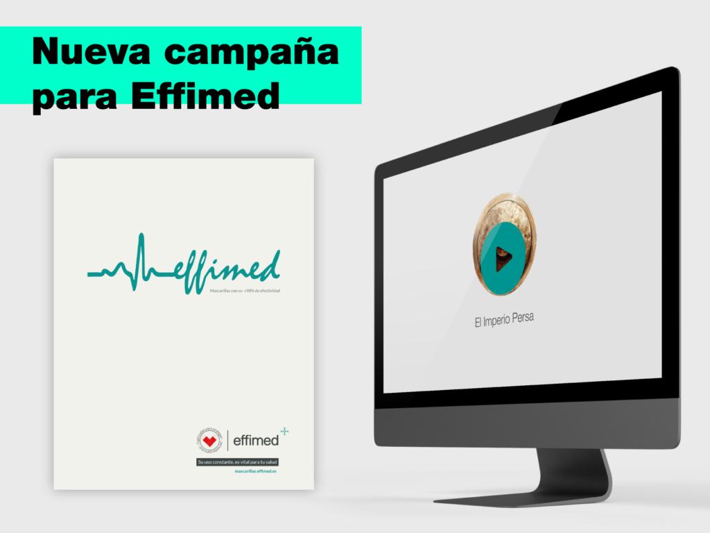 Nueva campaña para Effimed. Trabajamos por amor a la vida. - Parnaso