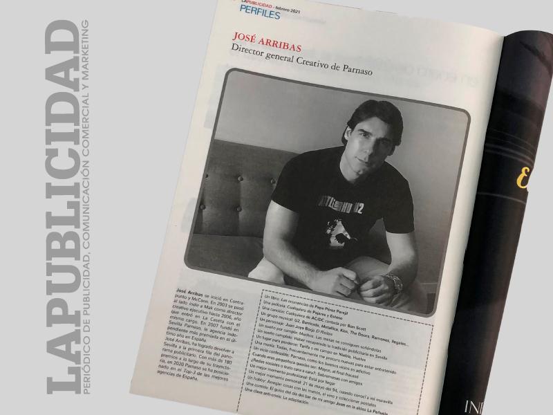 Nuevo artículo de Parnaso para el último número de La Publicidad - Parnaso