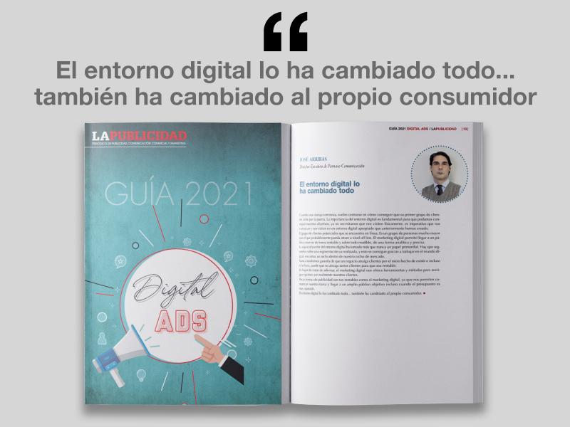 El entorno digital lo ha cambiado todo. Guía Digital ADS 2021 - Parnaso