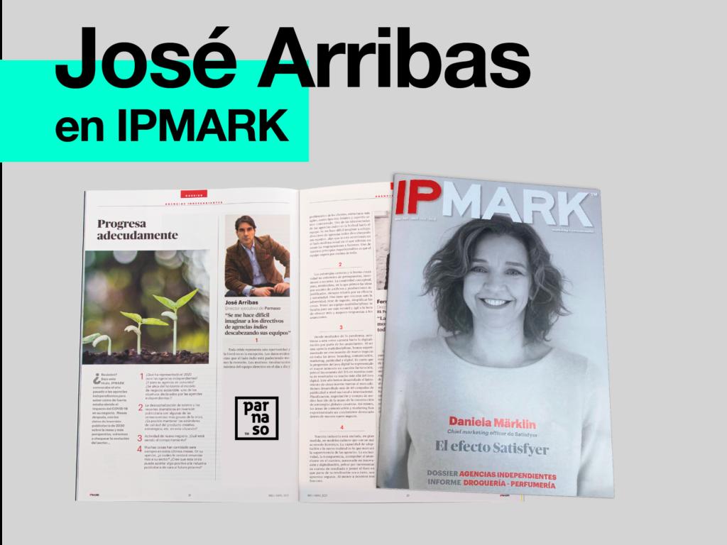 Parnaso en el número del mes de abril de la revista IPMARK - Parnaso