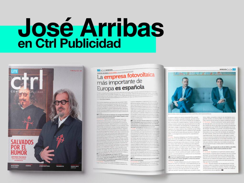 Entrevista Parnaso en CTRL Publicidad