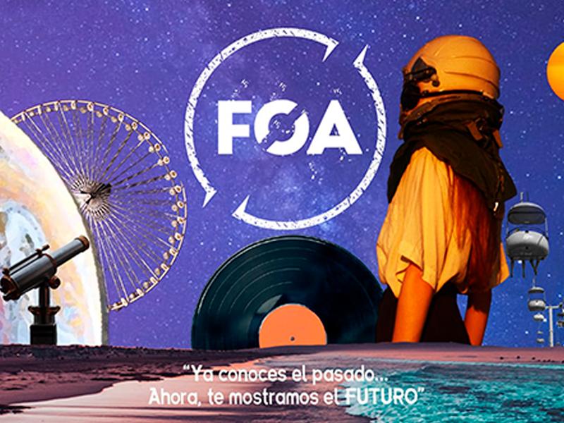 Parnaso patrocinador de otro mundo en FOA 2021 - Parnaso