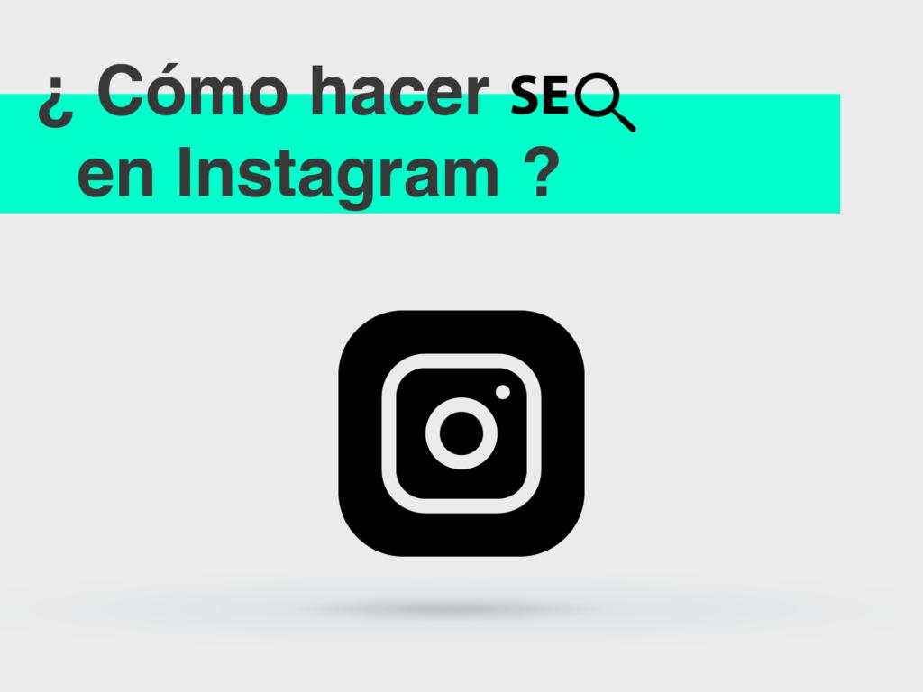 como hacer seo en Instagram