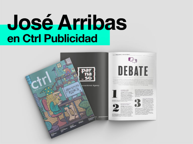 Parnaso en el nuevo número de la revista CTRL Publicidad