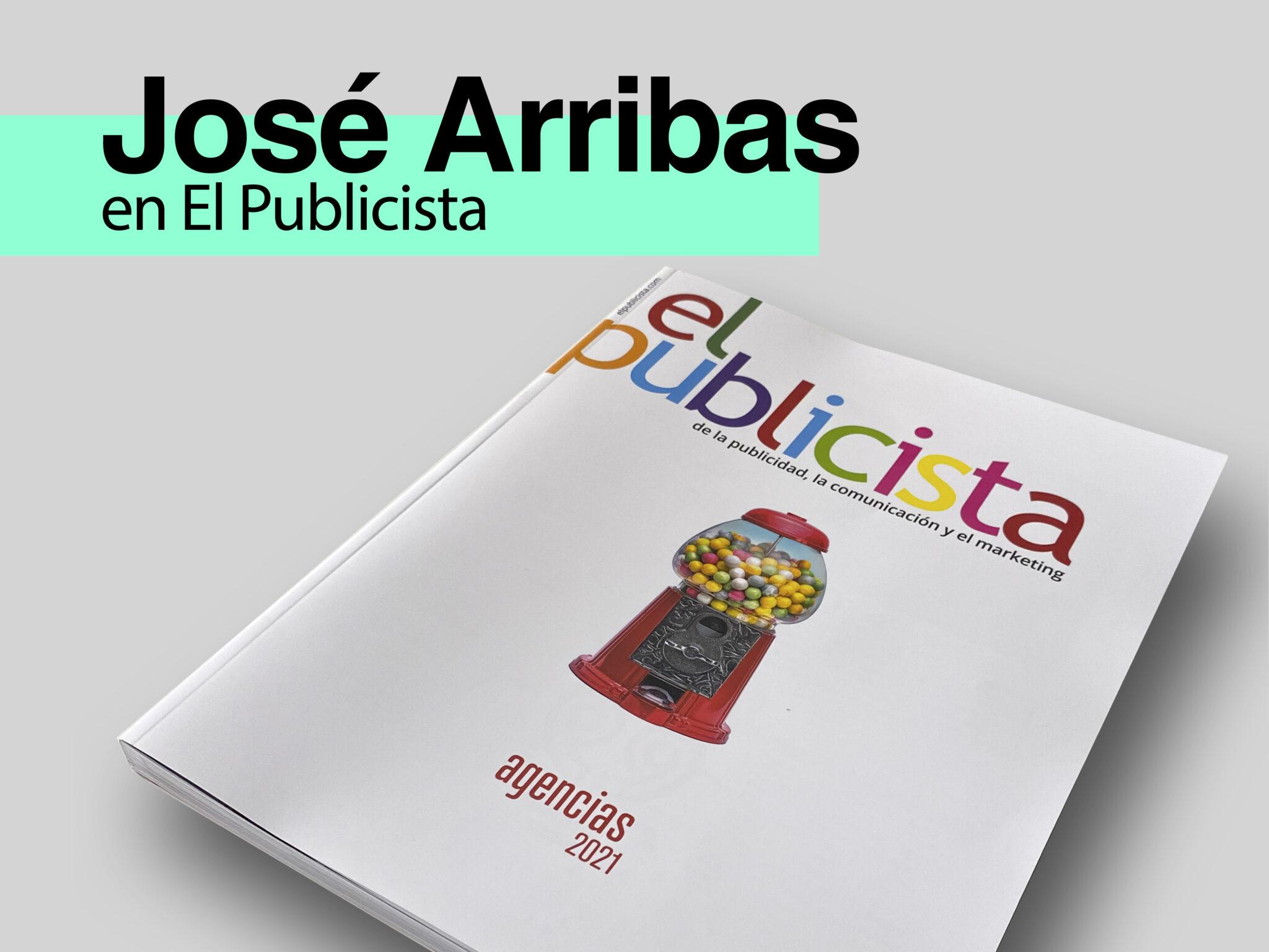 Nueva entrevista a José Arribas León en el medio El Publicista - Parnaso