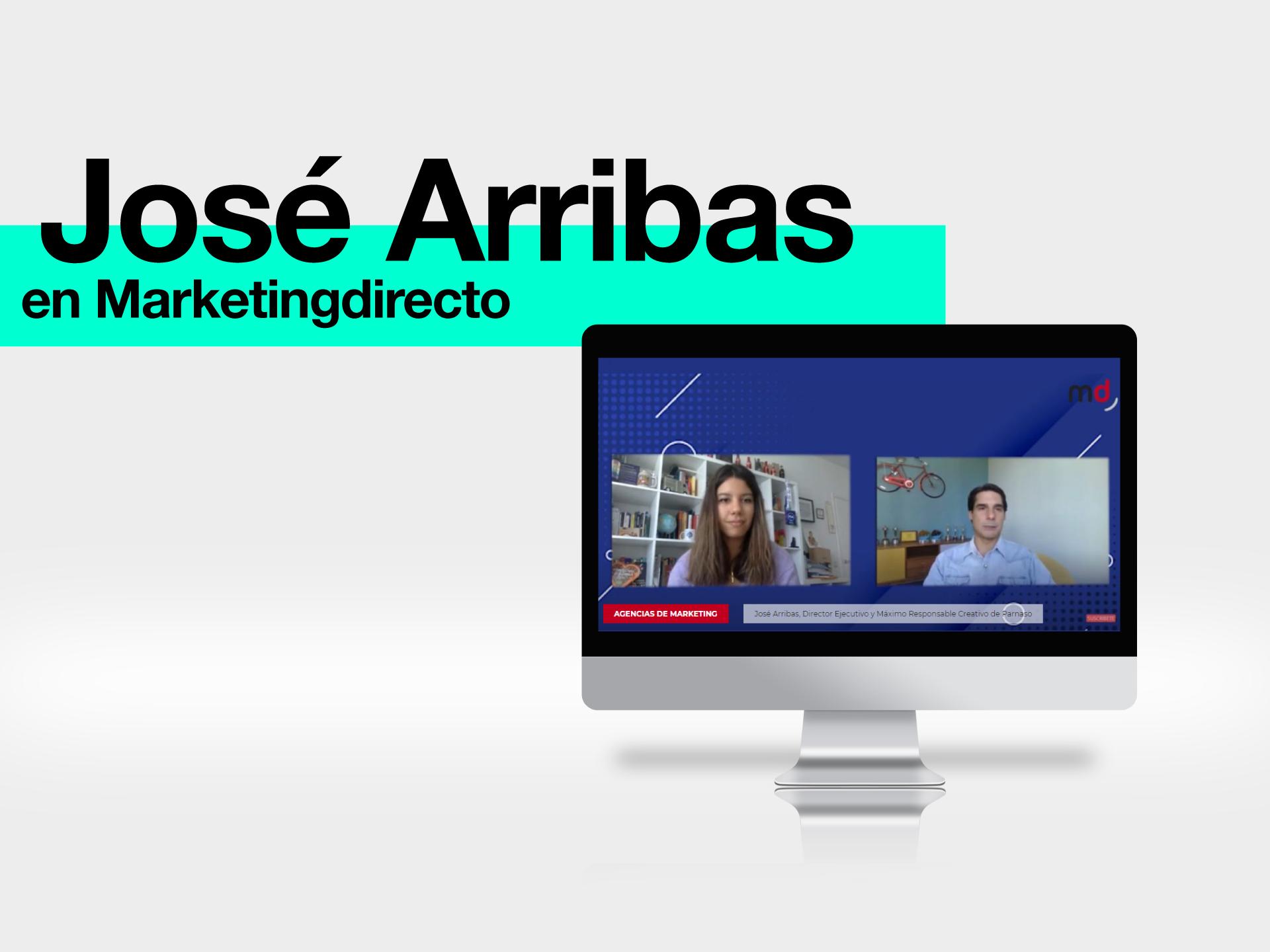 José Arribas en el blog de MarketingDirecto - Parnaso