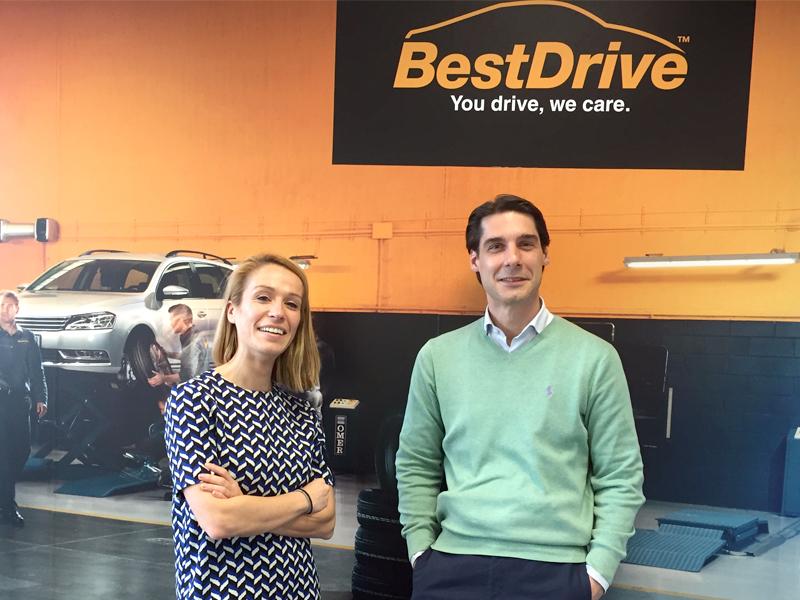 Parnaso firma con la empresa multinacional francesa BestDrive - Parnaso