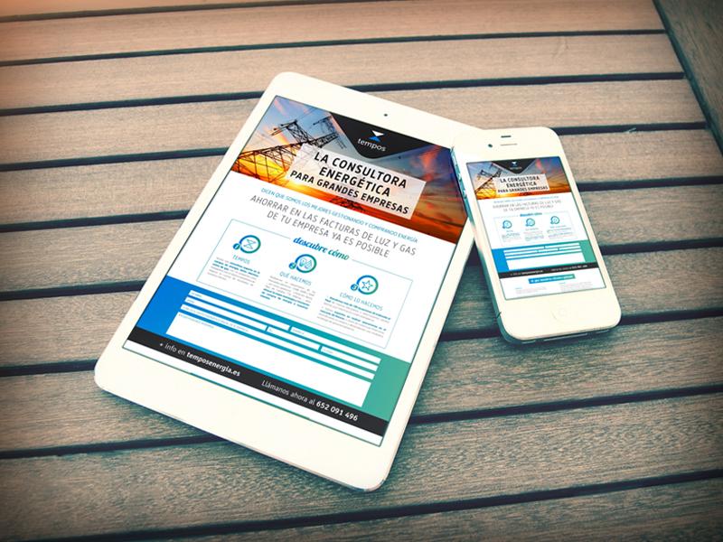 Parnaso crea la campaña SEM para Tempos Energía 6