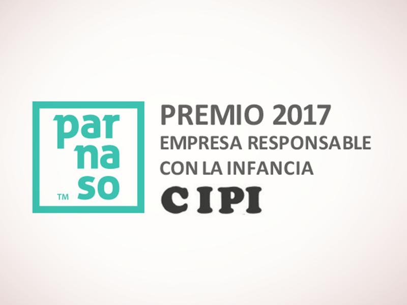 Premio 'Empresa Responsable con la Infancia 2017' para Parnaso 4