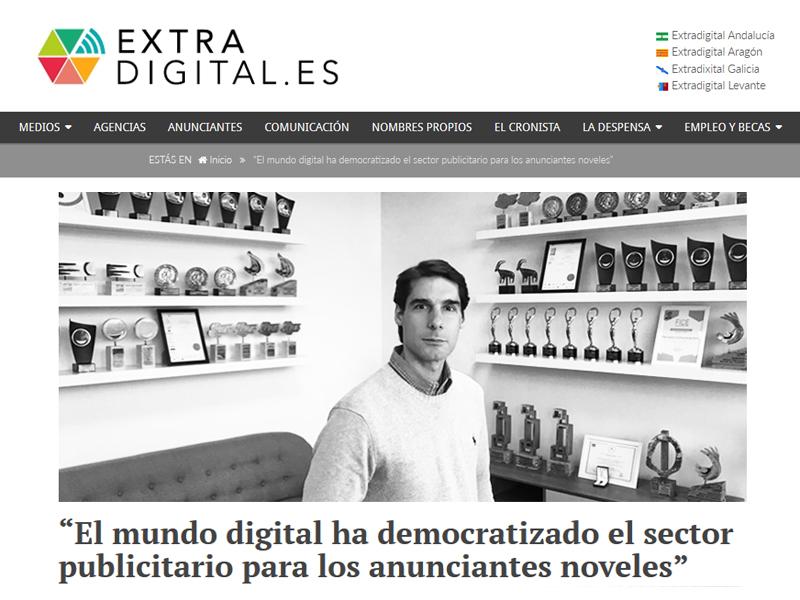 Entrevista completa a José Arribas en Extra Digital - Parnaso