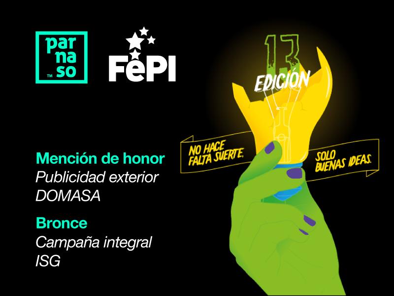 Parnaso recibe dos premios en el festival El FePI 2019 - Parnaso