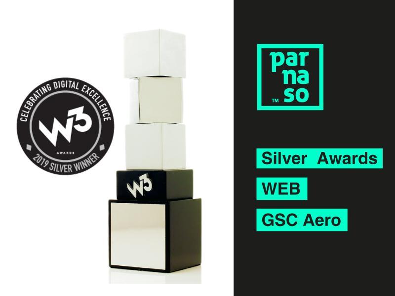 Parnaso gana un Silver Award en el Festival internacional W³ - Parnaso